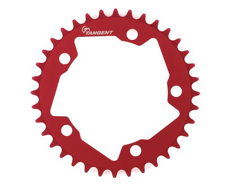Tangent Halo 5-Bolt Chainring (Red)