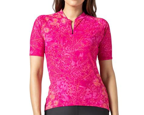 Terry Women's Soleil Short Sleeve Jersey (Hydrange/Beetroot) (XL)