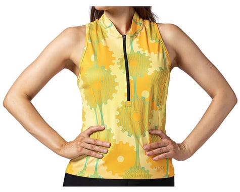 Terry Women's Sun Goddess Sleeveless Jersey (Retrogear/Yellow) (XS)