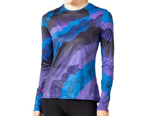 Terry Women's Soleil Long Sleeve Top (Geo/Dark) (XS)