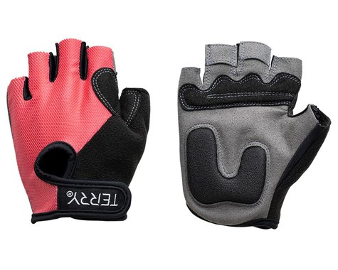 Terry Women's T-Gloves (Rouge Mesh) (XS)
