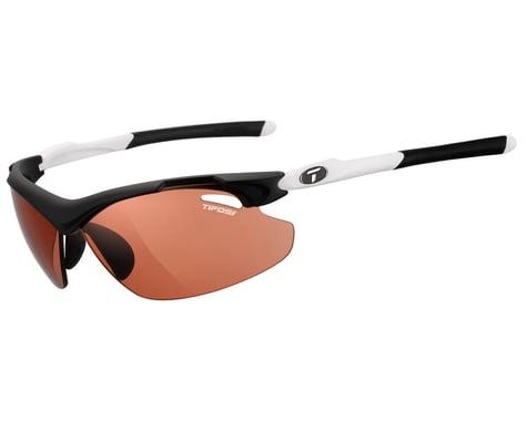 Tifosi Tyrant 2.0 Sunglasses (Black/White) (High Speed Red Fototec Lens)