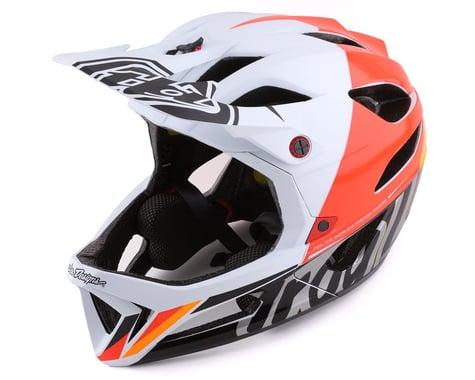 Troy Lee Designs Stage MIPS Helmet (Nova White) (XL/2XL)