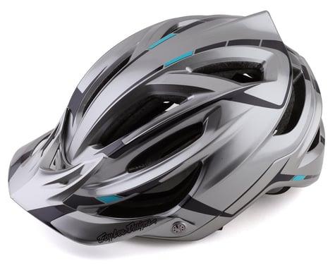 Troy Lee Designs A2 MIPS Helmet (Silver/Burgundy) (S)