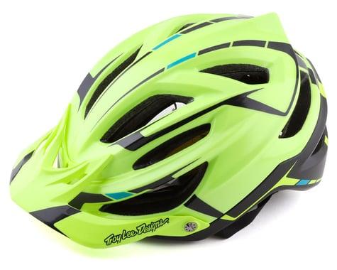 Troy Lee Designs A2 MIPS Helmet (Silver Green/Grey) (M/L)