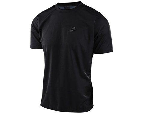 Troy Lee Designs Flowline Short Sleeve Jersey (Black) (S)