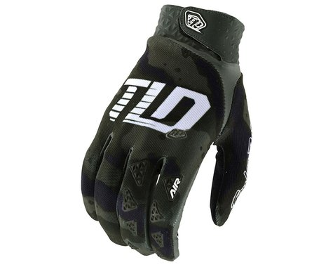 Troy Lee Designs Air Gloves (Camo Green/Black) (2XL)