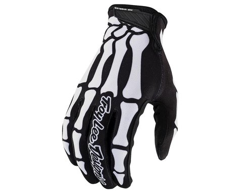 Troy Lee Designs Air Gloves (Skully Black) (M)