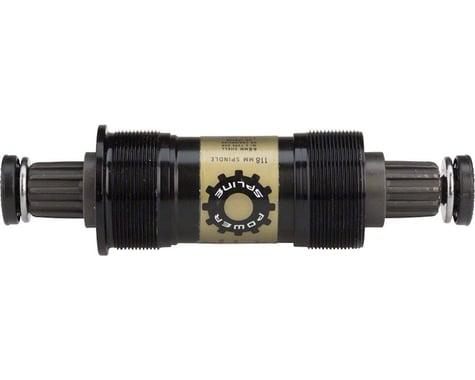 Truvativ PowerSpline Bottom Bracket (Black) (BSA) (68mm) (108mm)