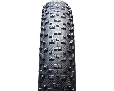 """Vee Tire Co. Snowshoe XL Studded Tubeless Ready Fat Bike Tire (Black) (4.8"""") (26"""" / 559 ISO)"""