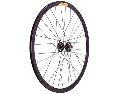 Velocity Deep-V Track Front Wheel (Black) (9 x 100mm) (700c / 622 ISO)