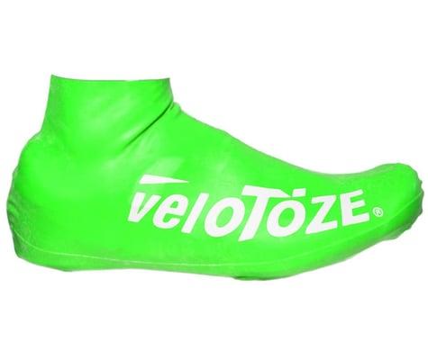 VeloToze Short Shoe Cover 2.0 (Viz Green) (S/M)