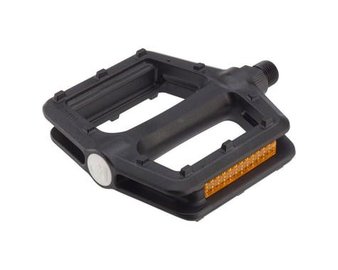 "VP Components Grind Pedals (Black) (Plastic) (9/16"")"