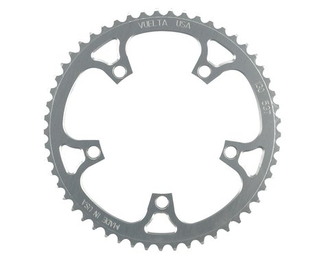 Vuelta Flat Road Chainring (130mm BCD) (Offset N/A) (53T)