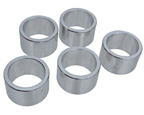 "Vuelta Aluminum Headset Spacers (Silver) (1"") (20mm)"