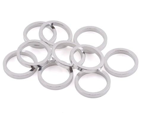 "Vuelta Aluminum Headset Spacers (Silver) (1-1/8"") (5mm)"