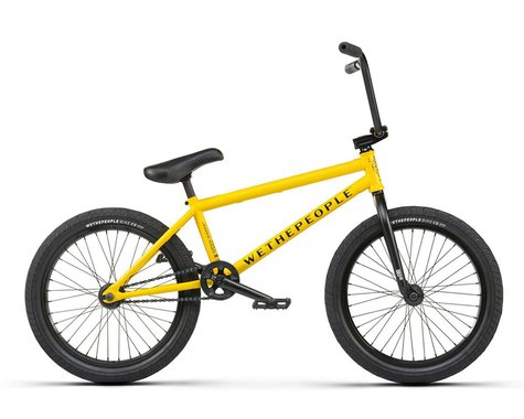 """We The People 2021 Justice BMX Bike (20.75"""" Toptube) (Matte Taxi Yellow)"""