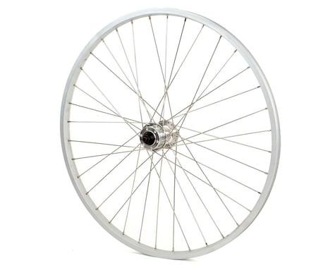 """Wheel Master MTB Disc Rear Wheel (Silver) (Freewheel) (QR x 135mm) (26"""" / 559 ISO)"""