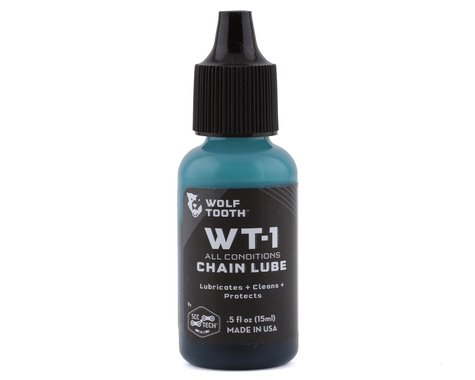 Wolf Tooth Components WT-1 Chain Lube (All Conditions) (0.5oz)