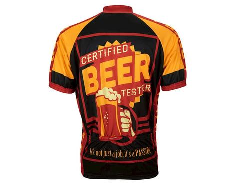 World Jerseys Beer Tester Short Sleeve Jersey (Black/Yellow)