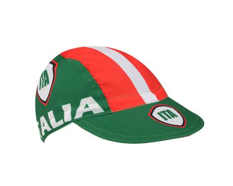 World Jerseys Italia Cycling Cap (Red/White/Green)
