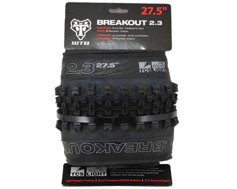 "WTB Breakout Dual DNA TCS Tubeless Tire (Black) (2.3"") (27.5"" / 584 ISO)"