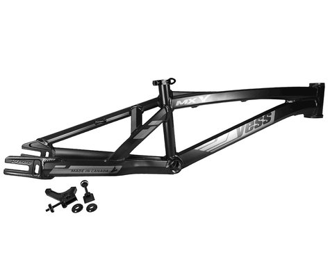 "YESS MX-Y 20"" Disc Brake BMX Race Frame (Charcoal) (Pro XL)"