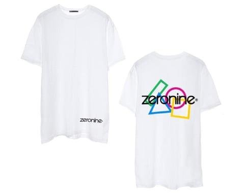 Zeronine Geo Cluster Logo T-Shirt (White) (S)