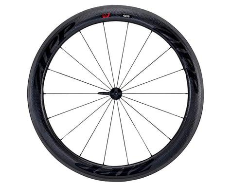 Zipp  404 Firecrest Carbon Clincher Front Wheel (Black) (Rim Brake)