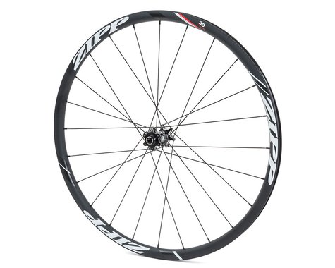 Zipp Speed Weaponry 30 Course Disc Front Wheel (Black) (QR/12/15 x 100mm) (700c / 622 ISO)
