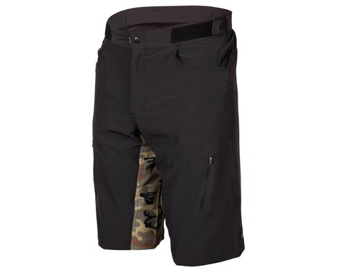 ZOIC The One Graphic Shorts (Black/Green Camo) (S)
