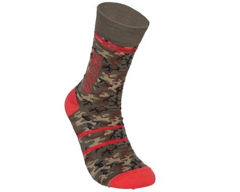 ZOIC Camo Socks (GreenCamo) (S/M)